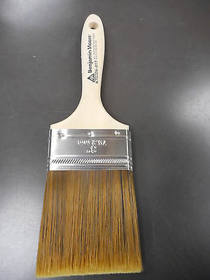 Benjamin Moore,3 inch flat all purpose paint brush
