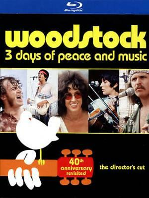 Woodstock: Three Days Of Peace & Music Used - Very Good Blu-Ray