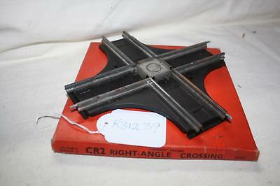 Hornby O Gauge Rail Right Angle  Crossing In Box Needs Clean Good  K31236