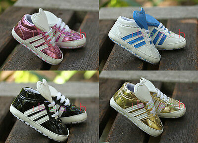 Infant Toddler Stylish Trainers Baby Boy Girl Pram Shoes Newborn to 18 Months