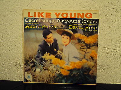 ANDRE PREVIN - Secret songs for young lovers