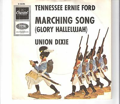 ERNIE TENNESSEE FORD - Marching song (glory hallelujah)