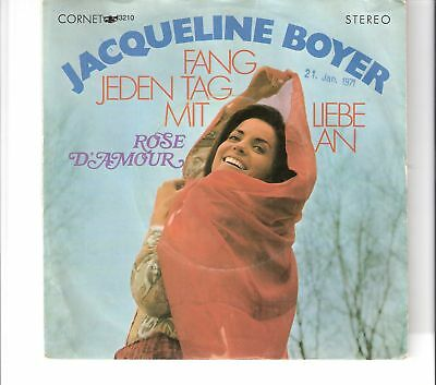 JACQUELINE BOYER - Fang jeden Tag mit Liebe an