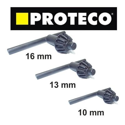 10mm, 13mm and 16mm Chuck Key Drill Key PROTECO TOP QUALITY Bosch Dewalt Makita