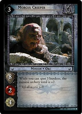 Lord of the Rings CCG Siege of Gondor 8C101 Gorgoroth Stormer X3 LOTR TCG