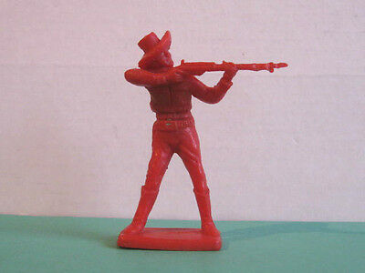 1 x CHERILEA  WILD WEST COWBOY  60mm PLASTIC TOY SOLDIER  ...