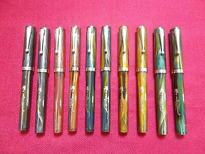 Fellowship -Thick Eyedropper Fountain Pen-Pillar Model -10 Pens Lot