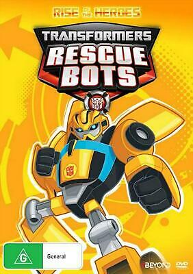 Transformers Rescue Bots - Rise Of The Heroes - DVD Region 4 Free Shipping!