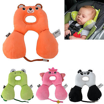 Animal Shape Baby Child Head Neck Support Headrest Travel Car Pillow Cushion