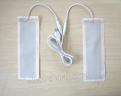 One Pair 5V USB Heating Element Film Heater 6*20CM for Warm Feet Warmer Electric