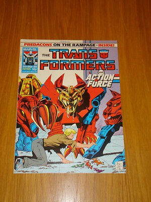 Transformers British Weekly #155 Marvel Uk Comic 1988