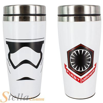 Stormtrooper Travel Mug Star Wars The Force Awakens Insulated Cup