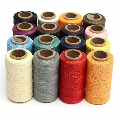 260M 150D 1MM Leather Sewing Waxed Wax Thread Hand Stitching Cord Craft DIY New