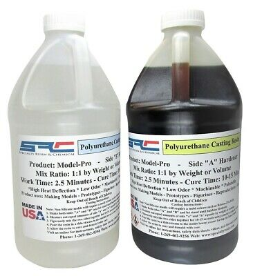 Plastic Casting Resin for Casting in Silicone Rubber Molds (1 gallon)