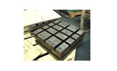 "16"" x 16"" Sub Plate Fixture Grid Subplate Table T-slots"