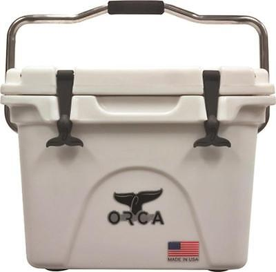 New Orca Orcw020 White Colored 20 Quart Insulated Ice Chest Cooler Usa 3450053