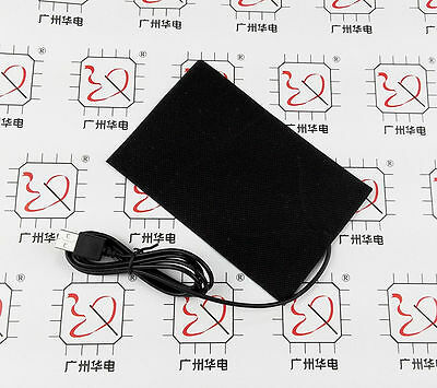 NEW 5v Usb heating film heating element for warm feet Po mouse pad 10*15cm