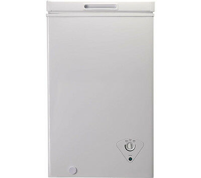 ESSENTIALS C61CF13 Chest Freezer White 50 cm Width 153 kWh 60 litres Capacity