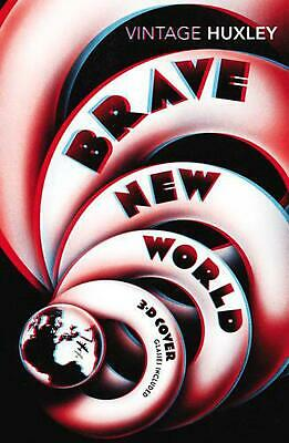 Brave New World: Special 3D Edition by Aldous Huxley Paperback Book Free Shippin