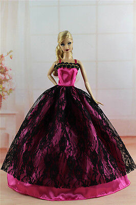 Fashion Princess Party Dress/Evening Clothes/Gown For Barbie Doll S327