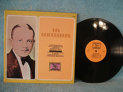 Bix Beiderbecke, Everest FS 317, 1976, The Wolverines, The Chicago Loopers, Jazz