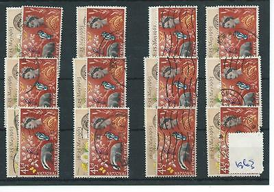 Gb - Wholesale Commems - 1963 - National Nature Week.- Twelve Sets - Used