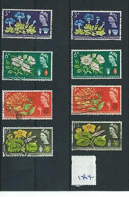Gb - Wholesale Commems - 1964 - Botanical Congress - Two Sets - Used