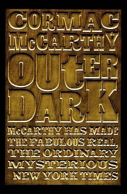 Outer Dark, Cormac McCarthy, New