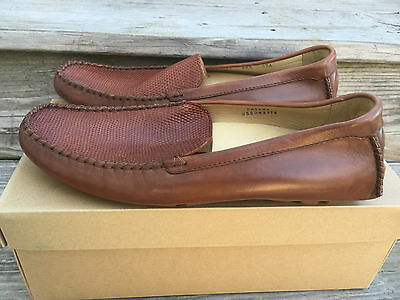 edbc60acf21 New Cole Haan Exotics Lizard Loafer Brown size 8.5 M C07517 Casual Rare