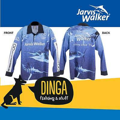 Jarvis Walker Long Sleeve Tournament Fishing Shirt- Large