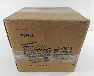 2005 Topps Wacky Packages Series 2 ANS2 Case of 16 Boxes