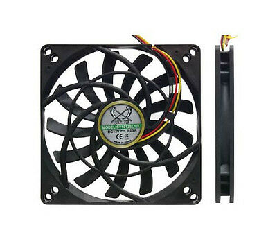 PQ705 Scythe Kaze Jyu SLIM 100mm 2000RPM Case/HDD Fan 3 & 4 Pin 92mm mounting