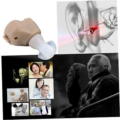 New Small In-Ear Voice Sound Amplifier Adjustable Tone Mini Hearing Ear Aid BF