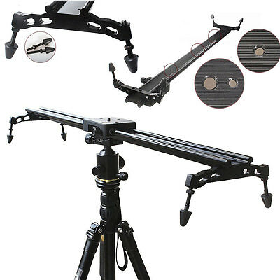60cm Video Stabilizer Track Slider Rail System CommliteDolly for DSLR Camcorder