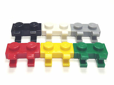 Plate 1 x 2 with Clip on Top Choose Your Color **Ten per Lot** #92280 LEGO