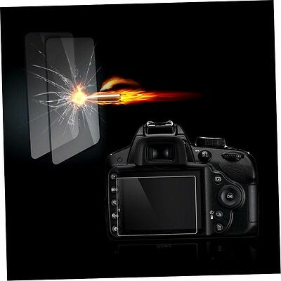 Tempered Glass Film Camera LCD Screen Protector for Nikon D3100/D3200/D3300 LD