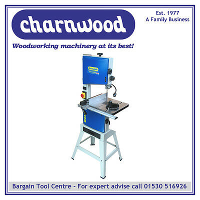 "New Model Charnwood B250 10"" Premium Woodworking Bandsaw With 6"" Depth Of Cut"