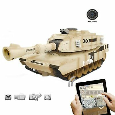 New Fhs Rc Jinxingda Jxd Jd805 Wifi Tank With Camera Real Time Video Toy Car