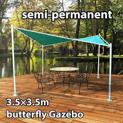 NEW Butterfly Shed Gazebo Party Tent MARQUEE Outdoor Pavlion Canopy 3.5M x 3.5M