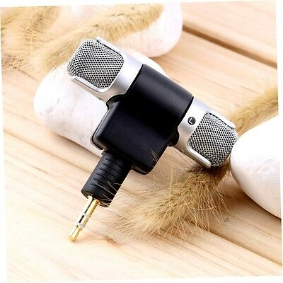 1pc New Mini Stereo Microphone Mic 3.5mm Mini Jack PC Laptop Notebook KL