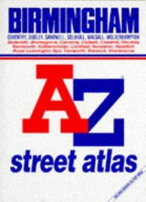 A. to Z. Atlas of Birmingham and West Midlands (A-Z Street Maps & Atlases),Geog