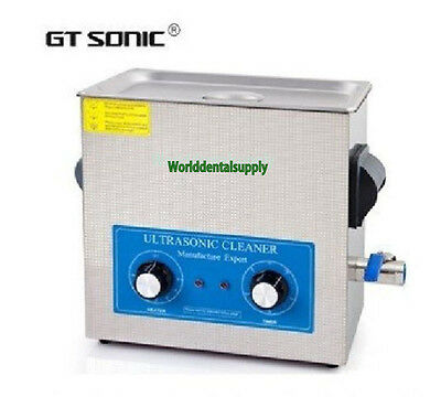 Brand GT Sonic VGT-1860QT dental Lab Use Ultrasonic Cleaner CE New Arrival