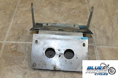 02 Yamaha Yzf600R Homemade Rear License Plate Bracket Back Tag Tidy Mount