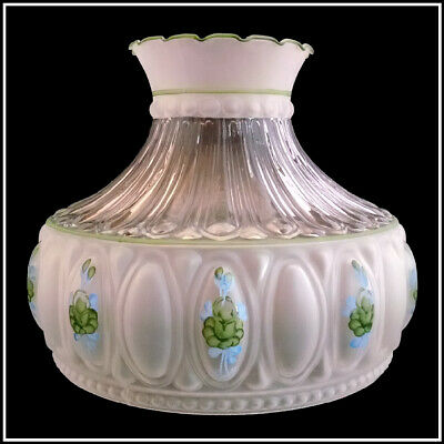 USA MADE M756 STYLE GREEN ROSES LAMP SHADE fits ALADDIN Lamps B&H MILLER RAYO