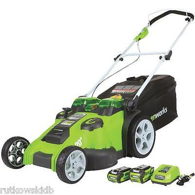Greenworks 20-inch 40V Lithium-ion Twin Force Cordless Mower