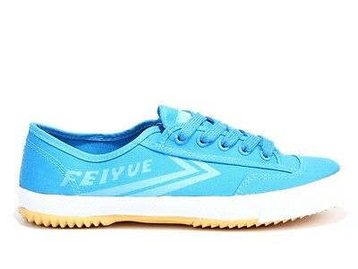 Feiyue Shoes (Vintage Canvas Runners Blue, Parkour Shoes, Kung fu Shoes)