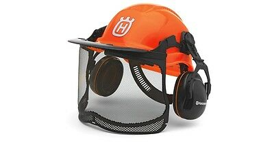 Husqvarna Functional Chainsaw Helmet Safety Ultravision Visor Forest Protection