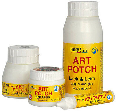 Serviettenkleber ART POTCH Lack & Leim 750ml