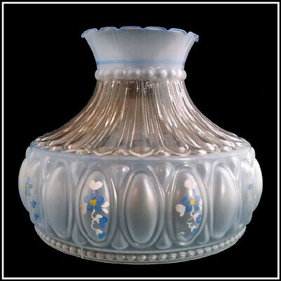 USA MADE M753 STYLE BLUE MEADOW LAMP SHADE fits ALADDIN B&H MILLER RAYO & MORE