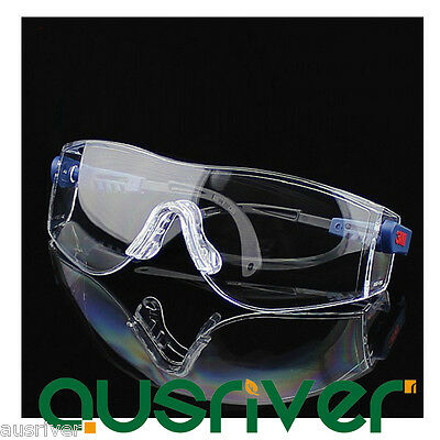 3M 10196 Protective Eyewear Clear Anti-Fog Lens Windproof Sand Laboratory Safety